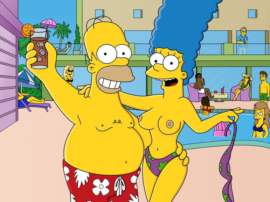 Marge Simpson Nago. Zdjęcie - 6