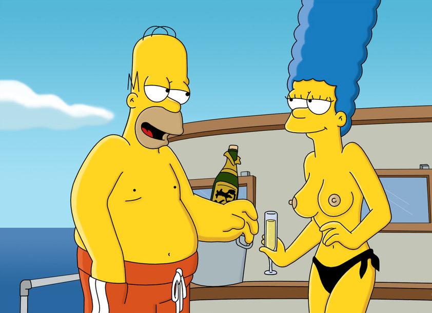 Marge Simpson Nago. Zdjęcie - 8