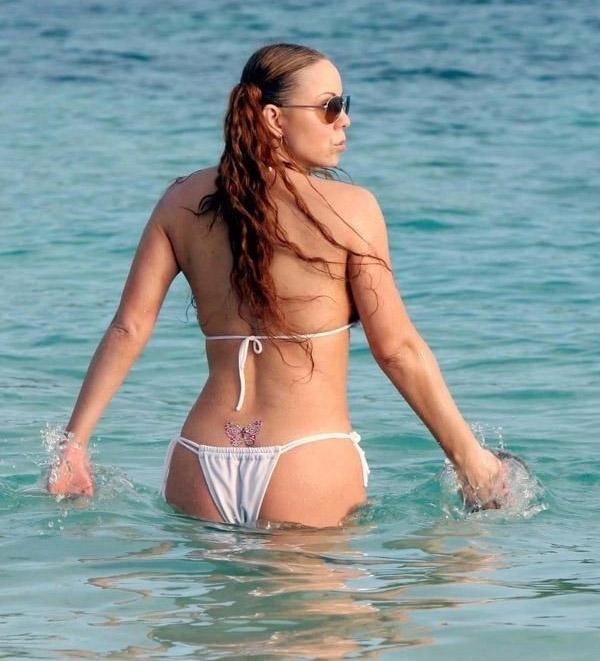 Mariah Carey Nago. Zdjęcie - 40