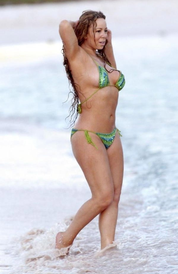 Mariah Carey Nago. Zdjęcie - 48