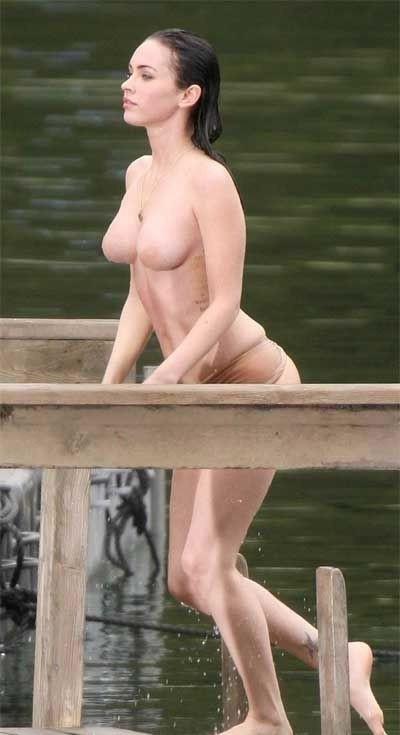 Megan Fox Nago. Zdjęcie - 3