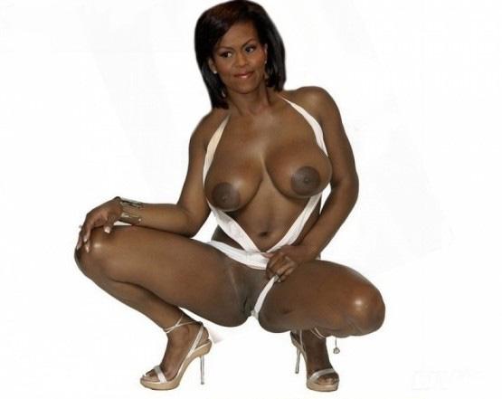 Мишель Обама голая. Фото - 31
