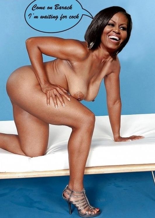 Мишель Обама голая. Фото - 40