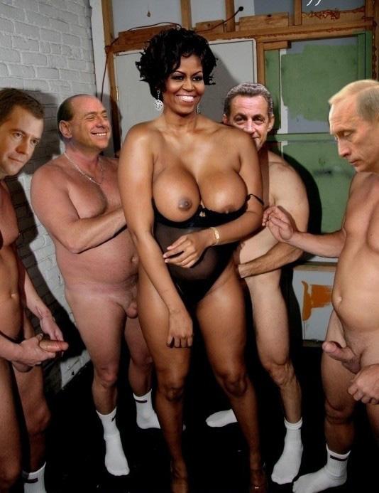 Мишель Обама голая. Фото - 8