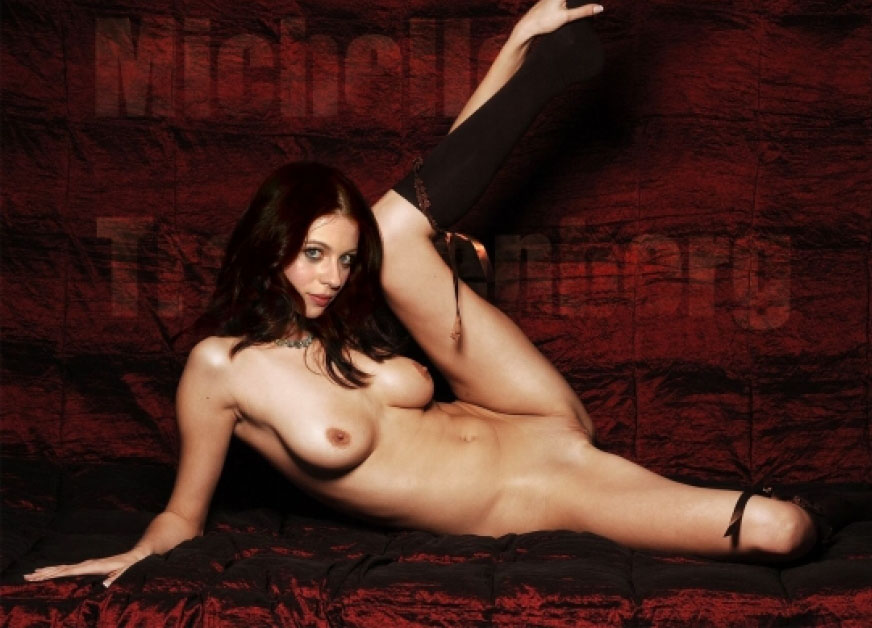 Michelle trachtenberg ass photo