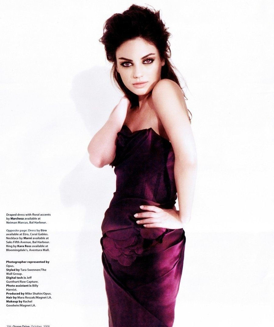 Mila Kunis Nude. Photo - 1