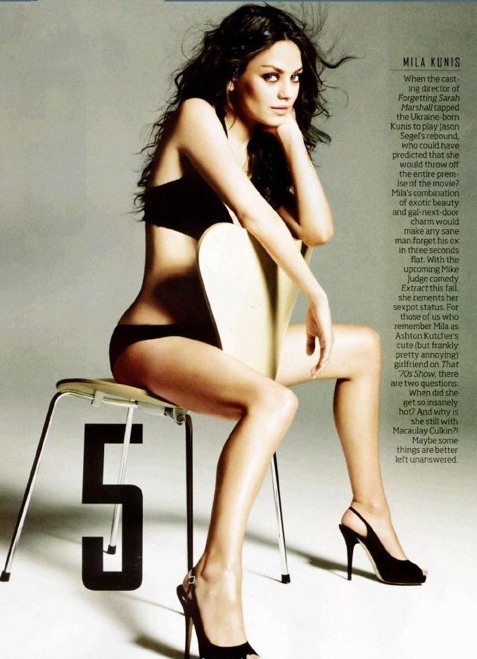 Mila Kunis Nude. Photo - 12