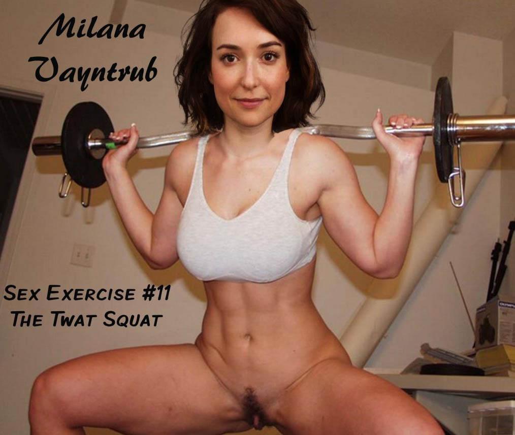 Milana Vayntrub Nude. Photo - 16