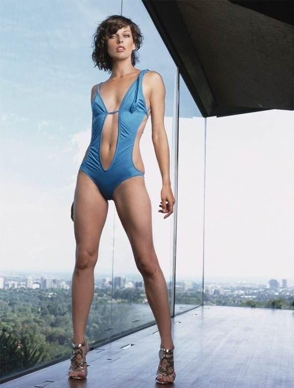 Milla Jovovich: Super-nackt und Super-sexy. Galerie Nr. 1