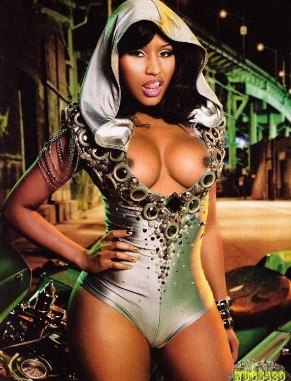 Nicki Minaj: totalmente desnuda en nuevas fotos filtradas