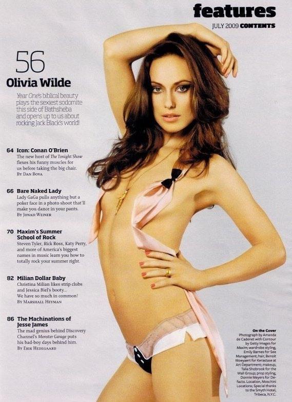 Olivia Wilde Nago. Zdjęcie - 4