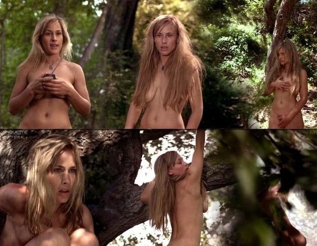 ¡Sin censura! Las escandalosas fotos de Patricia Arquette desnuda