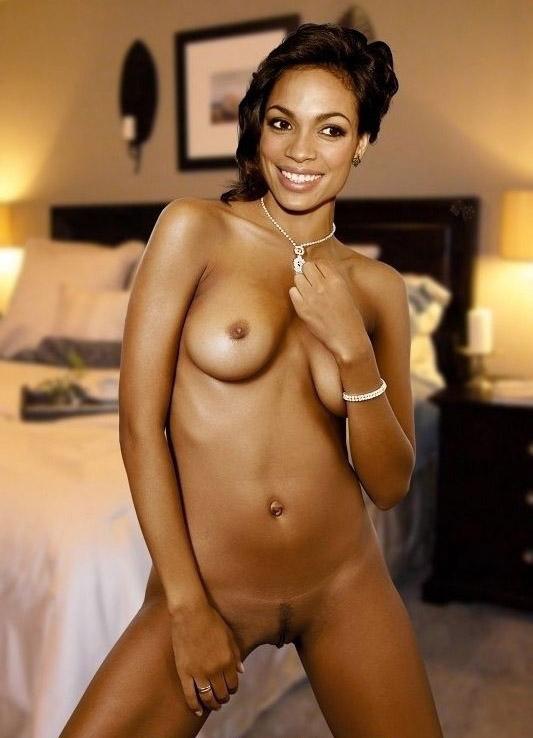 Rosario Dawson Nackt. Foto - 7