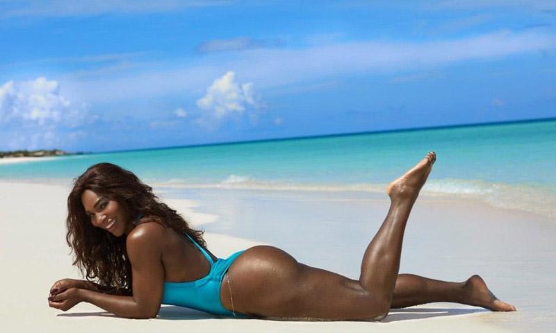 Serena Williams Nackt. Foto - 10