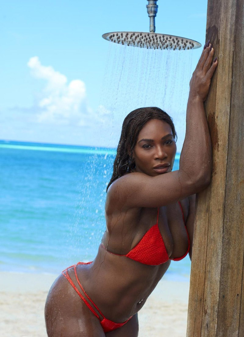Serena Williams Nackt. Foto - 11
