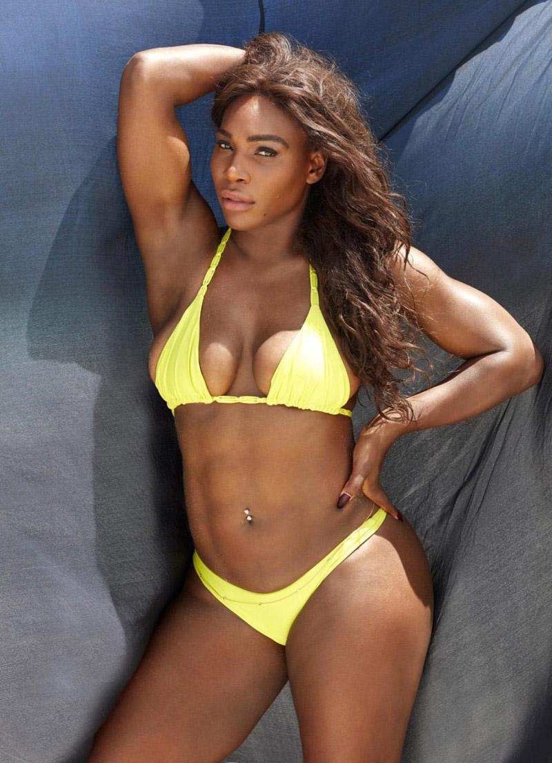 Serena Williams Nackt. Foto - 16