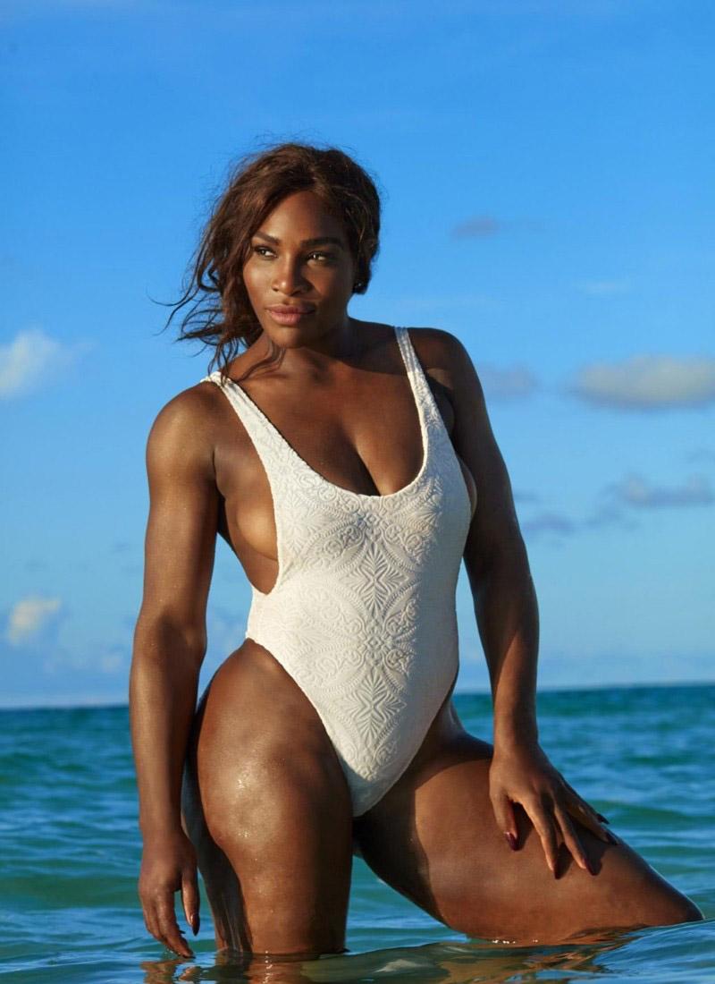 Serena Williams Nackt. Foto - 17