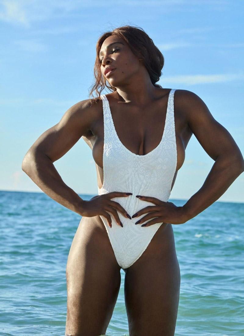 Serena Williams Nackt. Foto - 18