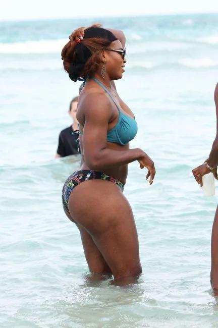 Serena Williams Nackt. Foto - 23