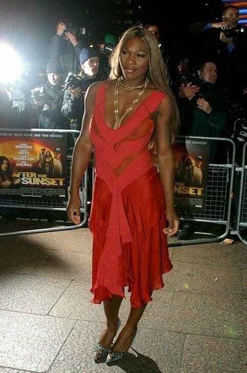 Serena Williams Nackt. Foto - 4