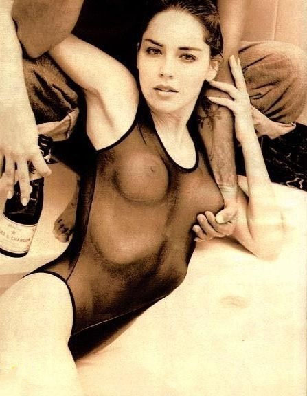 Sharon Stone Nago. Zdjęcie - 13