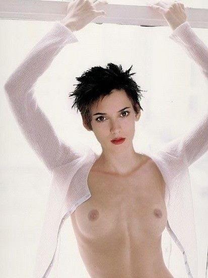 Naked winona ryder Winona Ryder