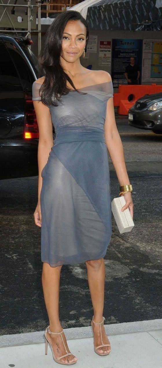 Zoe Saldana Nago. Zdjęcie - 15