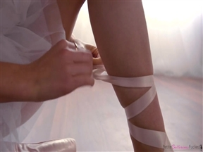 Нашампурил балерину.