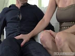Erica Lauren в половом акте с дрищом.